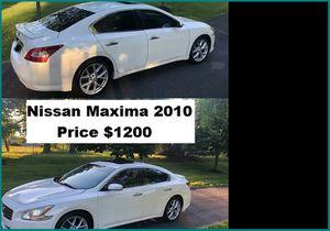 ֆ12OO_2010 Nissan Maxima for Sale in Modesto, CA