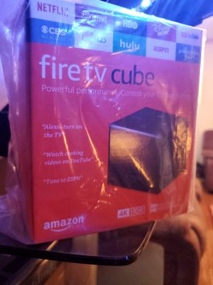 Amazon FireTV Cube 16GB 2nd Gen FreeMovie apps, YouTube (With NO ADS) & more for Sale in Cleveland, OH
