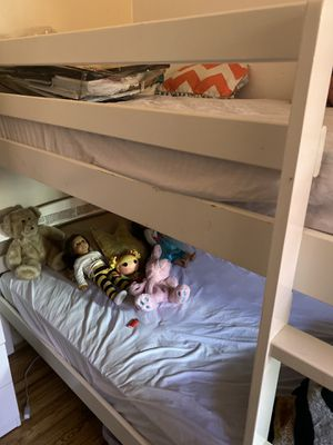 Bunk bed also use as single twin beds for Sale in New York, NY