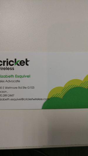 Cricket Wireless for Sale in Tucson, AZ