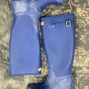 Blue Hunter Tall Rain Boots Women's 9 for Sale in Portland, OR
