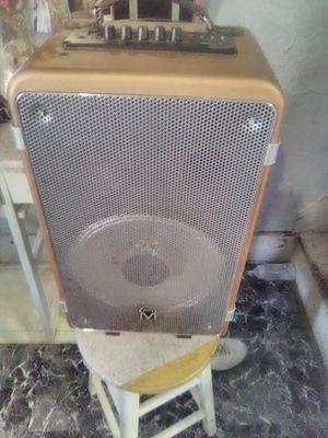 Mpower Bluetooth speaker and karaoke speaker for Sale in Philadelphia, PA