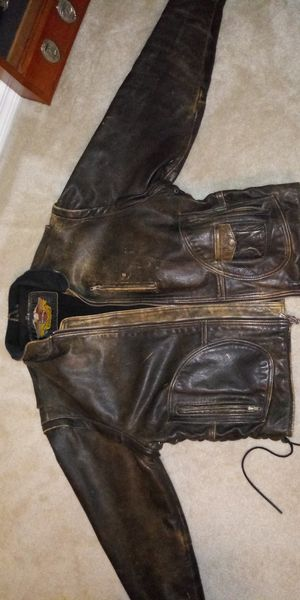 Harley Davidson Panhead leather jacket for Sale in Gainesville, FL