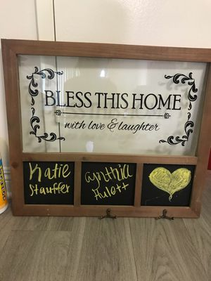 Bless this Home decoration & key hanger for Sale in Los Angeles, CA