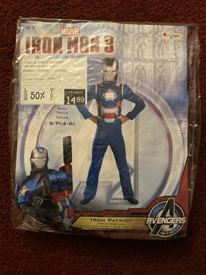 Iron Patriot Kids Costume for Sale in Chicago, IL