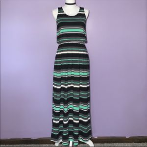 Black and Green Striped Maxi Dress for Sale in Royal Oak, MI