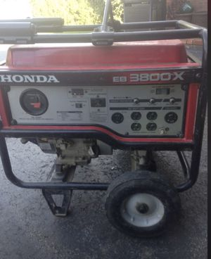 Honda EB3800X Generator for Sale in Ford City, PA