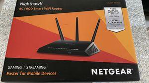 Netgear nighthawk AC1900 smart wifi router for Sale in Houston, TX