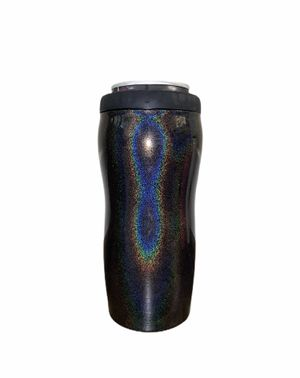Black Slim 12oz Shimmer Insulated Can Cooler Coozie White Claw Holder for Sale in Orlando, FL