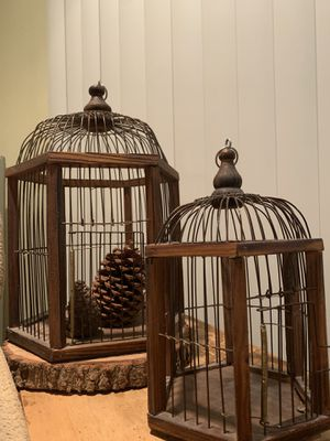 Decorative bird cages for Sale in Victorville, CA