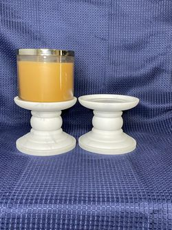 BBW Marble Candle Holders for Sale in Fort Worth,  TX