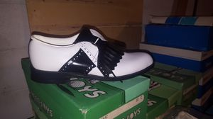 Vintage golf shoes for Sale in US