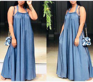 Denim Halter Maxi Dress for Sale in Oxon Hill, MD