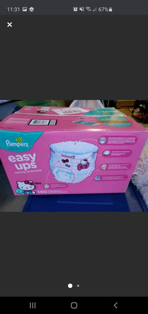 Pampers Easy Ups 2T-3T Hello Kitty 140 count for Sale in Rockville, MD
