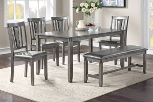 6 Pcs Dining Set F2549 for Sale in ROWLAND HGHTS, CA