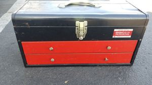 Union super steel professional made in the USA tool box snap-on red for Sale in Long Beach, CA