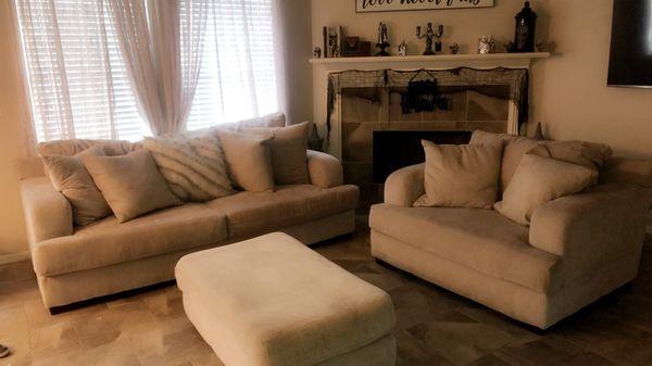 3 piece living room sofa set