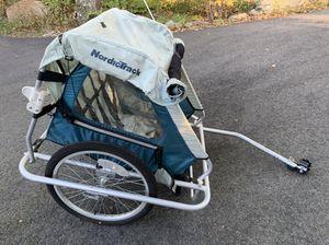 Nordic Track 2 Seat Child Bike Trailer for Sale in Durham, CT