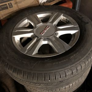 GMC terrain rims and tires for Sale in Crestwood, IL