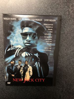 New Jack City DVD - used for Sale in Preston, CT