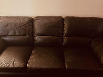 3 Piece Abbyson Livibg Italian Leather for Sale in Sicklerville,  NJ