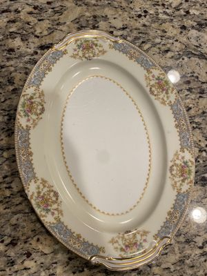 Noritake Fine China Chevonia Serving platter for Sale in Tampa, FL