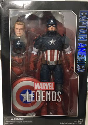 12 inch marvel legends series Iron man & Captain America for Sale in Las Vegas, NV