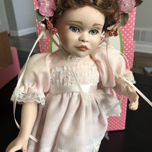 Ballerina Porcelain Doll. Treasury Collection for Sale in Roselle, IL