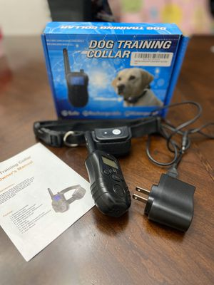 PetAZ Dog Training Collar With Remote Rechargeable & Waterproof LCD Screen for Sale in Ashburn, VA