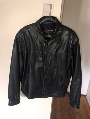 M. Julian Wilsons Leather Black Leather Thinsulate Jacket XL Extra Large for Sale in The Bronx, NY