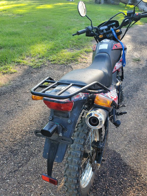 Duel Sport Motorcycle