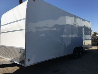 8.5x22x8 ENCLOSED TRAILER MOBILE TRAILER CARGO TRAILER CONCESSION for Sale in Los Angeles,  CA