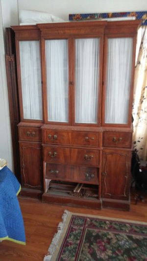 Antique china cabinet for Sale in Seaside Heights, NJ