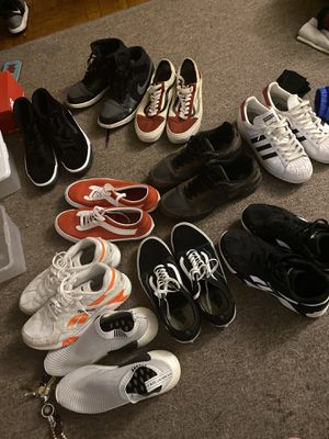 All MEN size 10.5 !!!! For sale Reebok, adidas, Fila,Vans, New Balance and Nike's. for Sale in The Bronx, NY