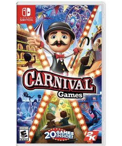 Carnival Games - Nintendo Switch for Sale in Washington,  DC