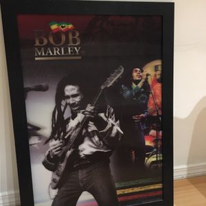 Bob Marley 3D Lenticular 18x26 for Sale in Los Angeles, CA