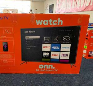 "New ONN 4K 50"" TV Open box w/ Warranty! IGXZ for Sale in Chino, CA"