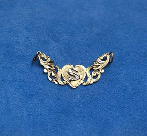 14k gold letter S pendant for Sale in South Gate, CA