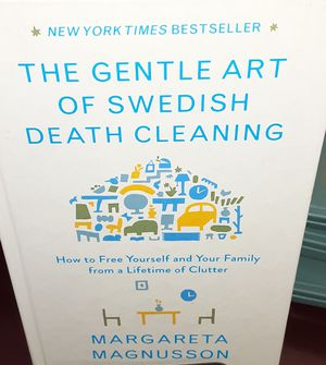 Book - The Gentle Art of Swedish Death Cleaning for Sale in Pasadena, CA