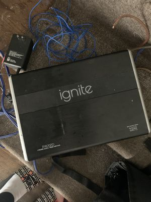 Ignite 4000 watt D class amplifier for Sale in Detroit, MI