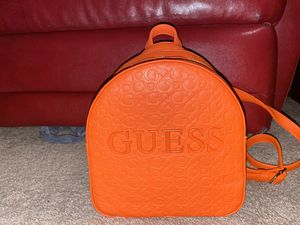 Orange Guess Mini Backpack for Sale in Aubrey, TX