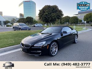 2012 BMW 6 Series for Sale in Irvine, CA