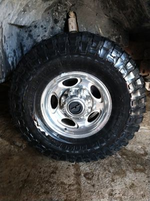 Set of 4 RPB Repulsor tires with rims for Sale in Mahomet, IL