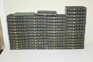 1900s Harvard Classics Complete Set plus Reading Guide & Lectures Collier for Sale in Grover Beach, CA