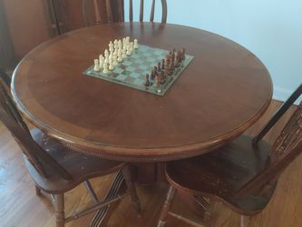 Dining Table With Three Chairs for Sale in Murfreesboro,  TN