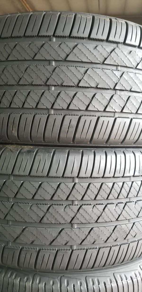 A set of 2 Bridgestone 245 45 18