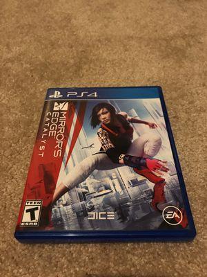 PS4 Mirror's Edge Catalyst Game for Sale in Redmond, WA