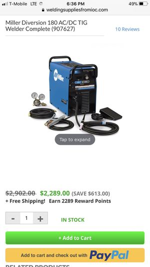 Miller Diversion 180 series welder for Sale in El Cajon, CA