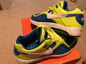 """"""" MINT CONDITION """" AIRMAX : BEAUTIFUL PHOTO BLUE /w VOLT LIME - MENS 10.5 !!!! EXTREMELY HARD TO FIND ! for Sale in Orlando, FL"""