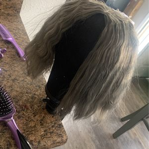 grey 360 full closure wig for Sale in Palmdale, CA